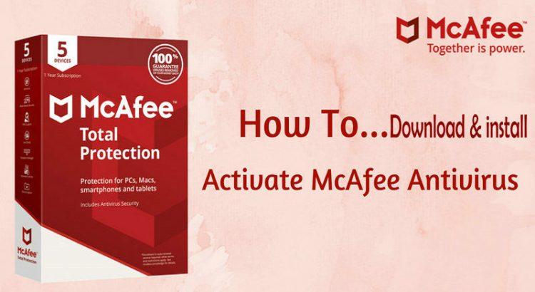 Go McAfee active