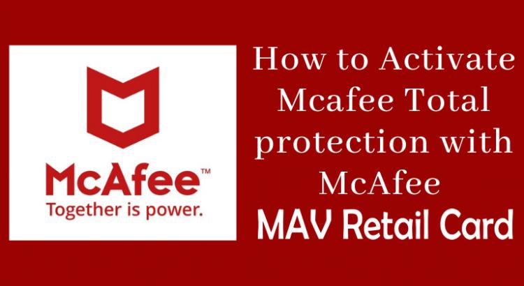 McAfee MAV Retailcard